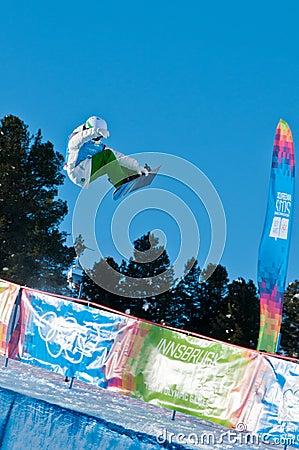 Gier Kevin olimpijska ravnjak Tim młodość Zdjęcie Editorial