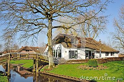 Giethoorn,Ijsselmeer,Netherlands