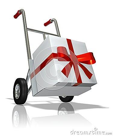 Free Gift Royalty Free Stock Image - 1400926