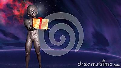Gift from alien