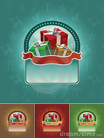 Gift banner set