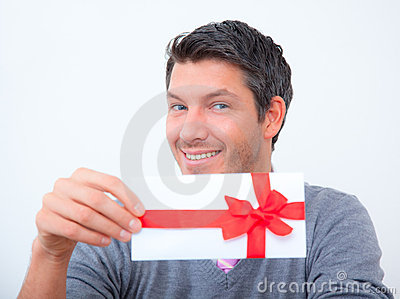 gift bonus coupon man