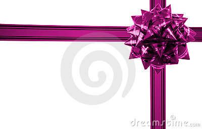 Gift with bow horizontal