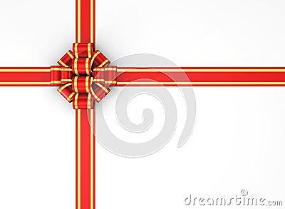 Gift box - 3d render