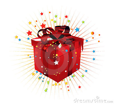 Free Gift Box Royalty Free Stock Images - 6887509