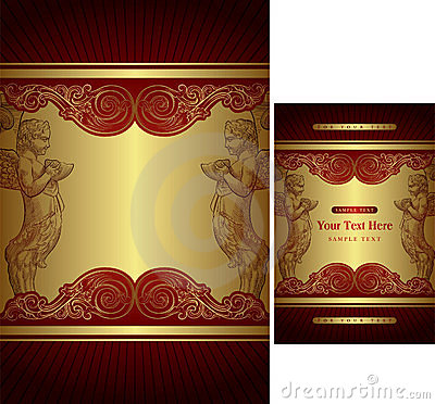 Free Gift Box Cover Template Stock Photos - 10948723