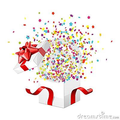 Gift Box Exploding