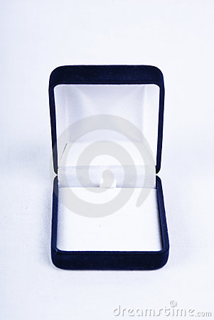 Free Gift Box For The Ring Stock Image - 16504501