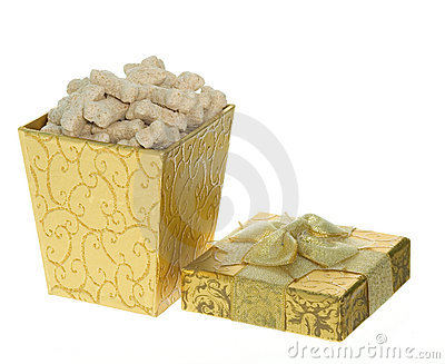 Gift Box full of Milk Bone Dog Treats