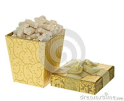 Gift Box full of Milk Bone Dog Treats