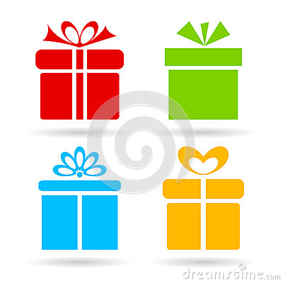 Free Gift Box Icon Stock Photography - 48552492
