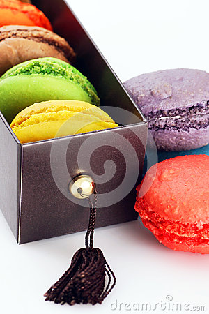 Gift box of macaroons