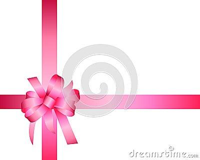 Gift box ribbon  template