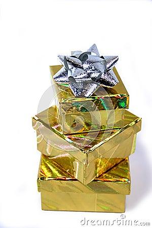 Gift box stack