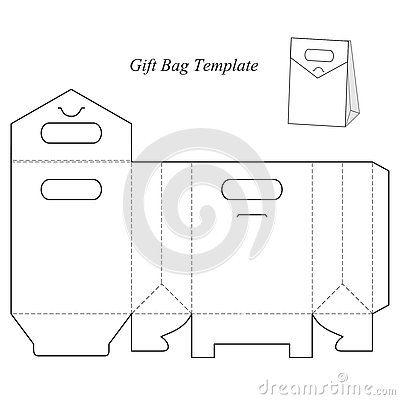 Free Gift Box Template With Lid Royalty Free Stock Photography - 76831787