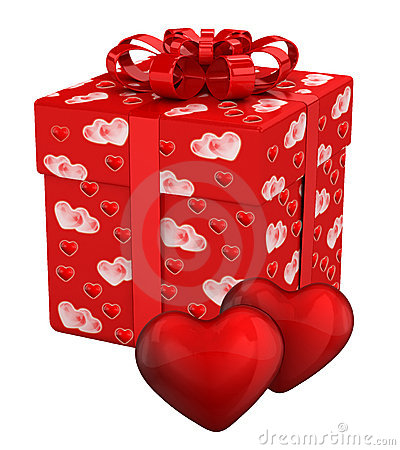 Gift box for Valentine s Day presents