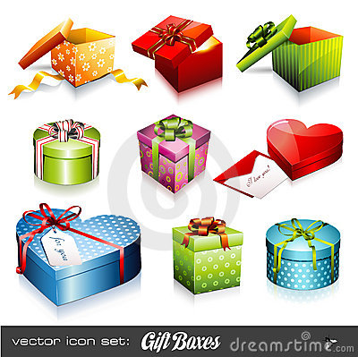 Free Gift Boxes Royalty Free Stock Photography - 10330227