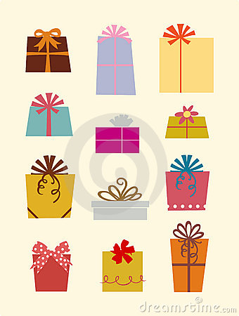 Free Gift Boxes Royalty Free Stock Photography - 9518937
