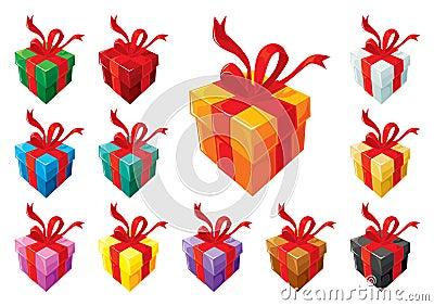 Gift boxes basic set