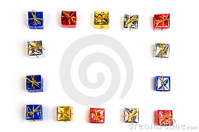 Gift boxes frame