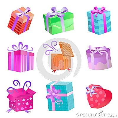 Gift boxes set