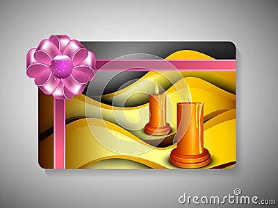 Gift card for Deepawali or Diwali