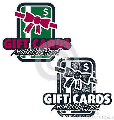 Gift Cards Available Here