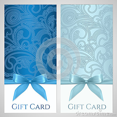 Free Gift Certificate, Gift Card, Coupon Template Stock Photography - 32866722