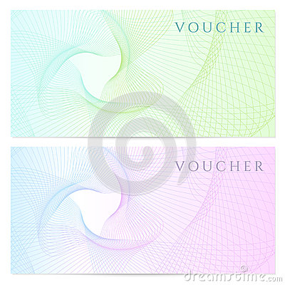 Gift Certificate, Voucher, Coupon Template. Color Royalty ...