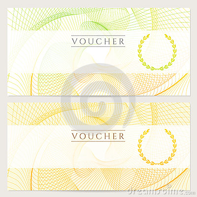 Free Gift Certificate (Voucher, Ticket, Coupon). Color Royalty Free Stock Photos - 32911258