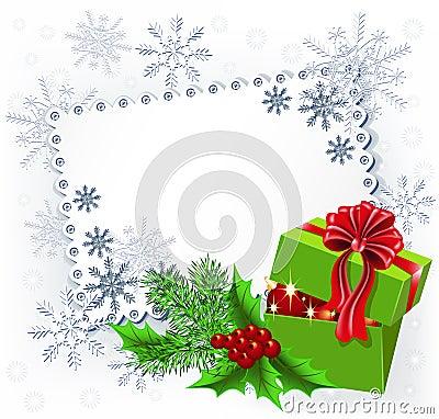 Gift Christmas box