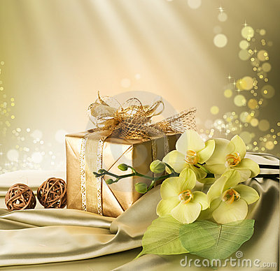 Free Gift For St.Valentines Day Royalty Free Stock Image - 12328936