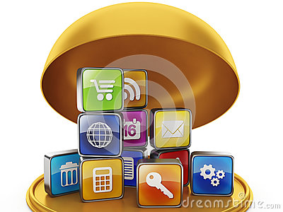 Gift in the form of mobile applications
