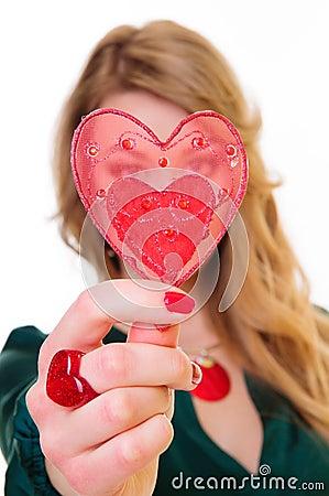 Gift heart Shape