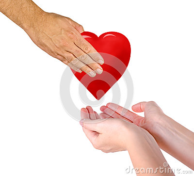 Free Gift Of Heart Stock Images - 83425844
