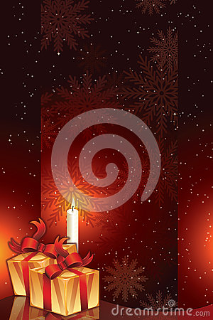 Gift packages with candle light