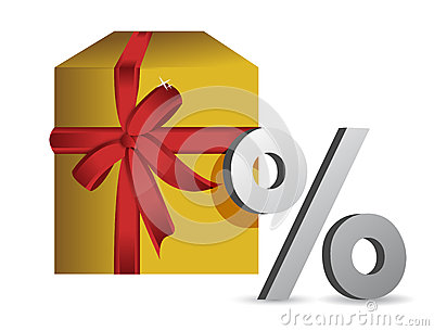 Gift percentage illustration