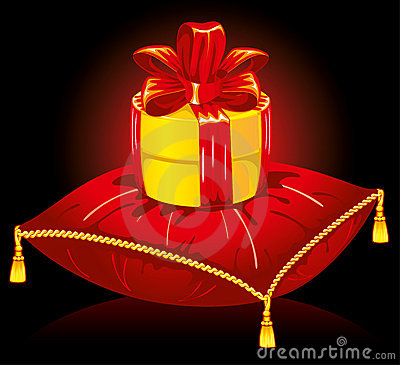 Gift on the pillow