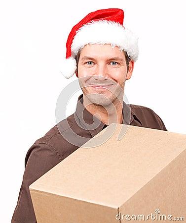 Gift present christmas post