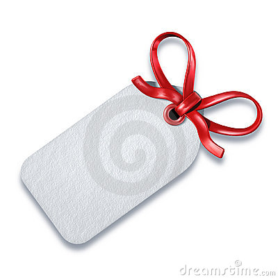 Gift price tag