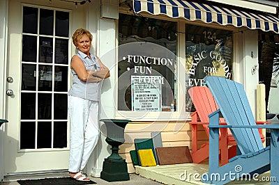 Gift shop owner