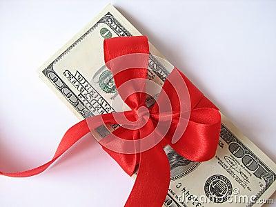 gift Stack of $ 100 bills