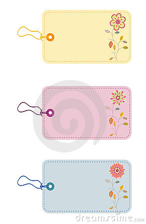 Free Gift Tags Royalty Free Stock Photography - 5107767