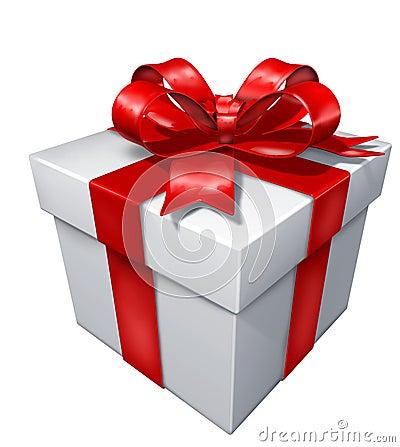 Gift white box