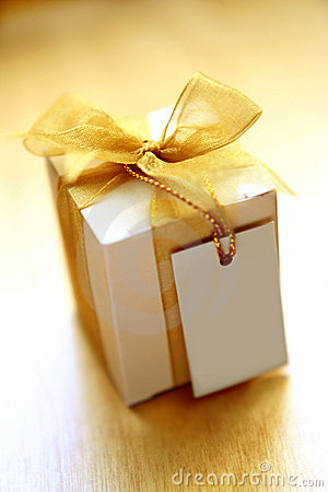 Free Gift With A Note Stock Photo - 438940