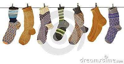 Gift woolen sock