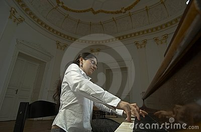 Gifted Pianist at the Piano-2