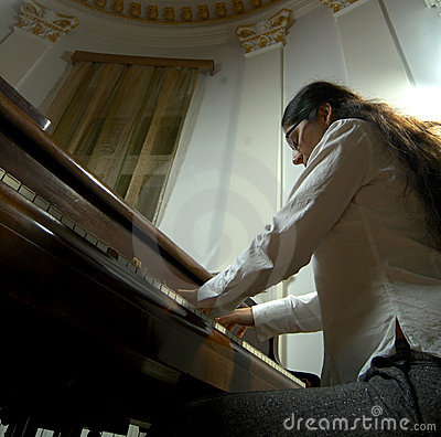 Gifted Pianist at the Piano-6