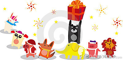 Gifts for the animals