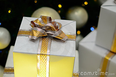Gifts For Christmas Royalty Free Stock Photography - Image: 22336757